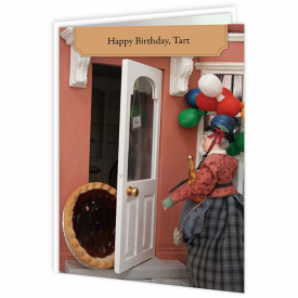 Happy Birthday Tart Card