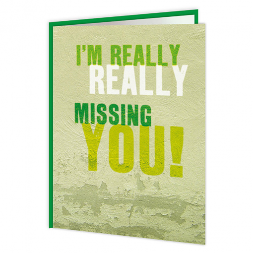 Really Missing You Card