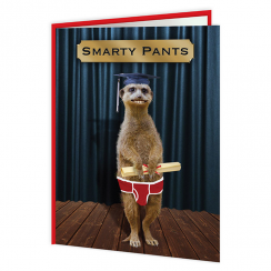 Smarty Pants Greetings Card