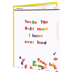 You're the Best Mum Fridge Card