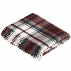 100% Lambswool Dress Macduff Tartan Throw