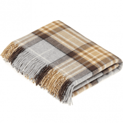 100% Lambswool Mckellar Tartan Throw
