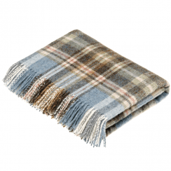 Country Collection Glen Coe Aqua Throw