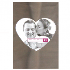 Center Heart Photo Frame