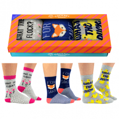 Cheeky Sayings Socks for Women