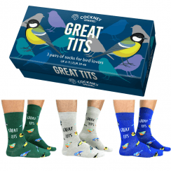 Great Tits Socks for Men