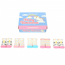 Baby Unicorn Sock Gift Set