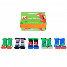 D is for Dinosaur Socks Gift Set for Toddlers