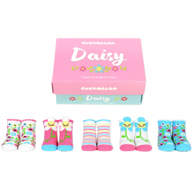 Daisy Sock Gift Set for Toddlers