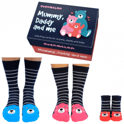 Mummy, Daddy and me Sock Gift Set