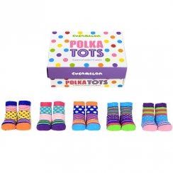 Polka Tots Socks Gift Set for Toddlers