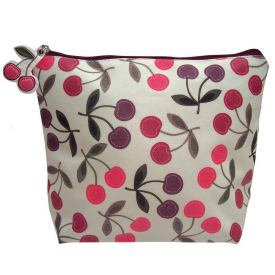Fruit Tree Cherry Wash Bag