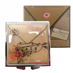 Love Letters Compact Mirror