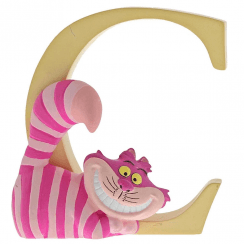 Alphabet Letter C Cheshire Cat Figurine