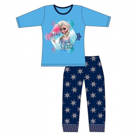 Disney Frozen Girl's Blue Pyjamas 3-10 Years