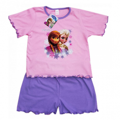 Disney Frozen Shorts Purple Pyjamas 12 Months to 4 Years