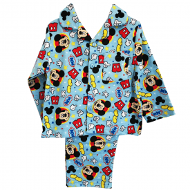 Micky Mouse Flannelette Pyjamas 12 Months to 4 Years
