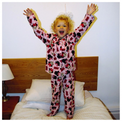 Minnie Mouse Spotty Flannelette Pyjamas 3 to 10 Years
