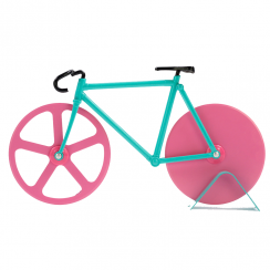Fixie Bike Pizza Cutter Watermelon