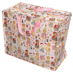 Dress up Dolly Recycled Jumbo Storage Bag