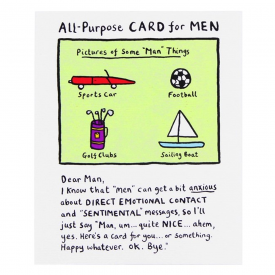 All Purpose Card for Men