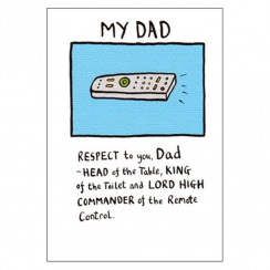 My Dad, Remote Control Card