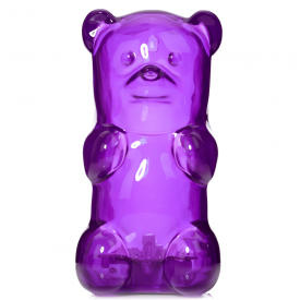 Purple Gummy Bear Lamp