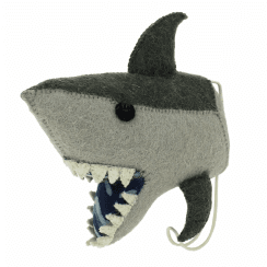 Felt Shark Head Coat Hook