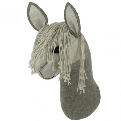 Llama Felt Animal Head Large