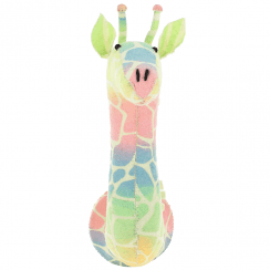 Semi Ombre Pastel Giraffe Felt Animal Head