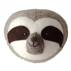 Sloth Mini Felt Animal Head