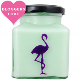 Asian Pear & Plum Flamingo Candle