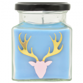 Bah! Humbug Stag Candle