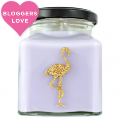 Cheesecake Crunch Flamingo Candle