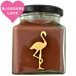 Jamaican Cafe & Walnut Flamingo Candle