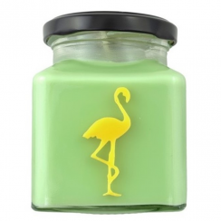 Lemon & Lime Mojito Flamingo Candle