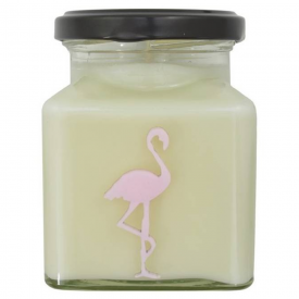 Macaroon & Almond High Tea Flamingo Candle