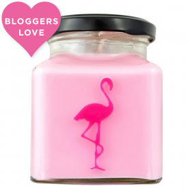 Oriental Lotus & Rose Otto Flamingo Candle