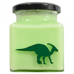 Parasaurolophus Salted Caramel Apple Limited Edition Candle