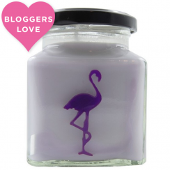 Parma Violets, Candy Shop Flamingo Candle