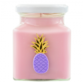 Pineapple & Raspberry Kitsch Candle
