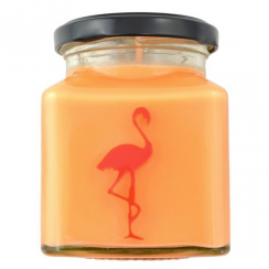 Pomegranate Cider Flamingo Candle