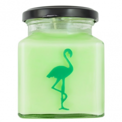 Sweet Lime & Cedar Flamingo Candle