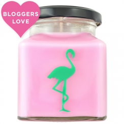Thai Lime & Mango Flamingo Candle