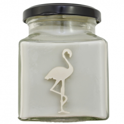 Thunderstorm Hand Made Flamingo Candle
