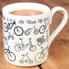 Bicycle Picture Maps Mug
