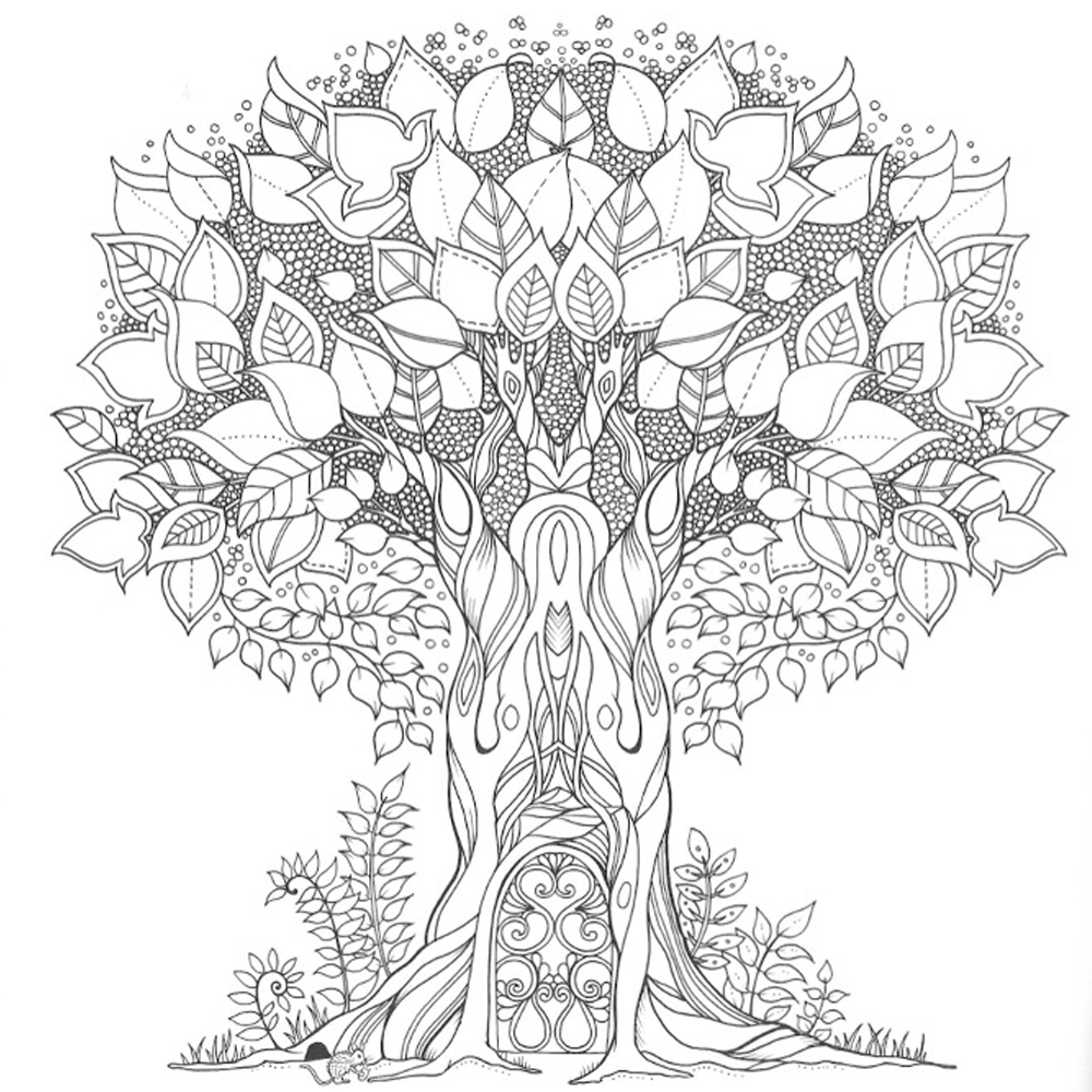 81 Enchanted Forest Coloring Book Johanna Basford