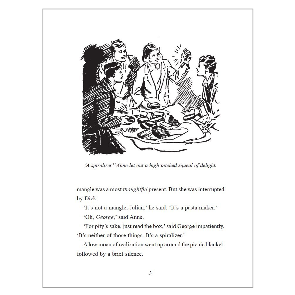 Flamingo Gifts Five Go Gluten Free, Enid Blyton For Grown Ups Spoof Book