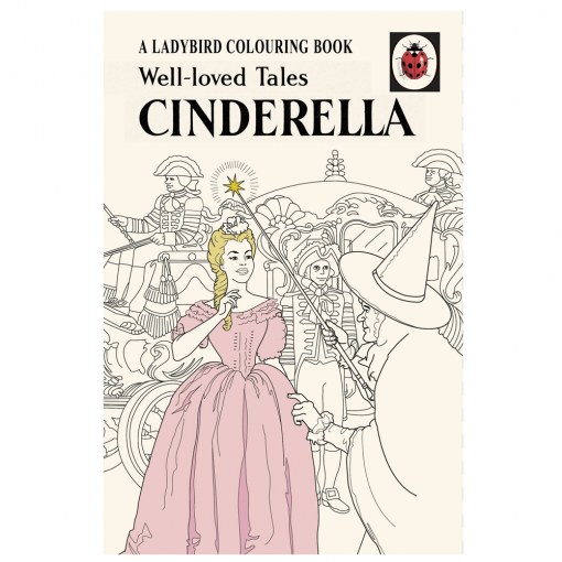 Flamingo Gifts Ladybird Well Loved Tales Cinderella Colouring Book