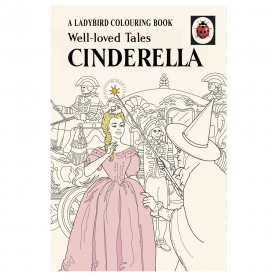 Ladybird Well Loved Tales, Cinderella Colouring Book
